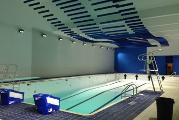 Ambient noise in indoor public swimming pools